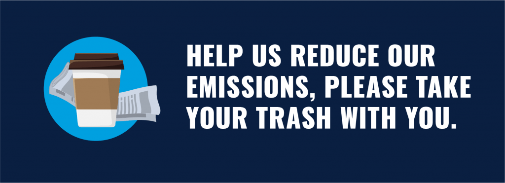 Help us reduce our emissions