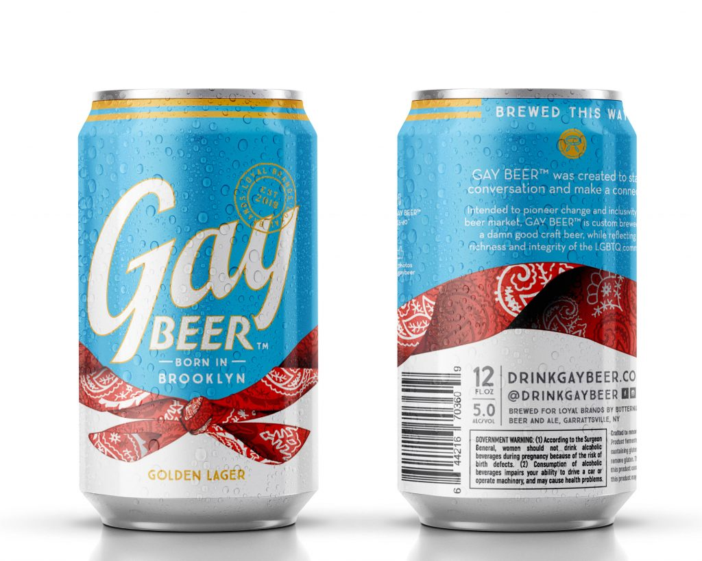 Gay Beer, Born in Brooklyn