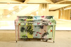 Sing For Hope piano Tropical Dreams by Joanne Agabs