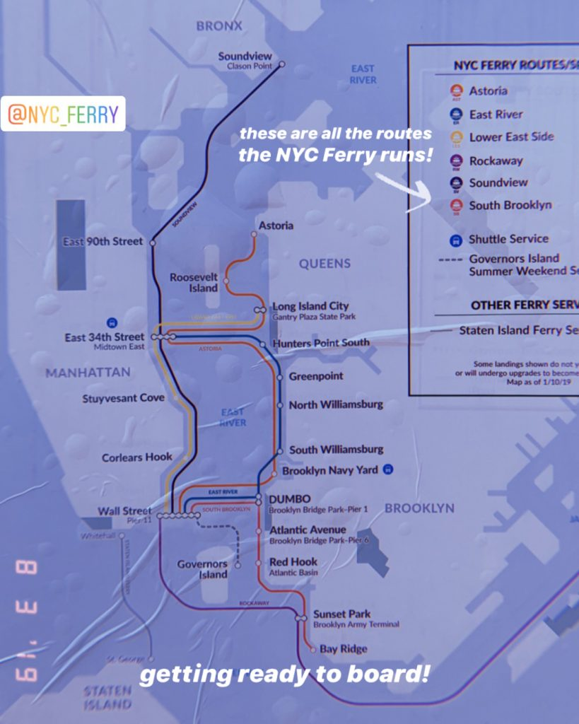 South Brooklyn Day-Date map